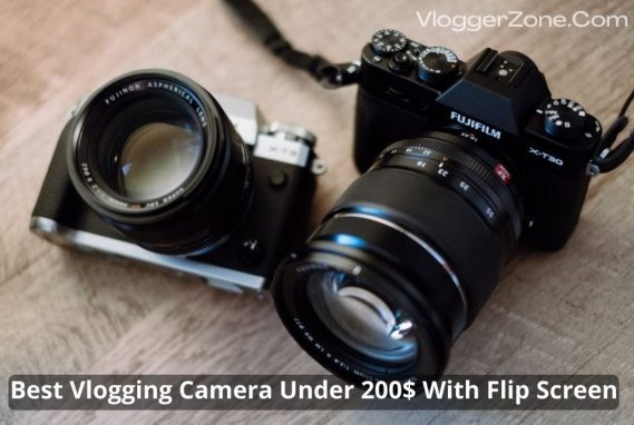Best Vlogging Camera Under 200$ with flip screen